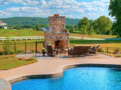 Fireplace & Firepit #001 by Integrity Pools and Spas