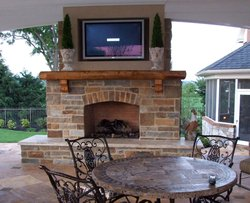 Fireplace & Firepit #003 by Integrity Pools and Spas