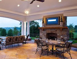 Fireplace & Firepit #005 by Integrity Pools and Spas