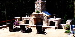 Fireplace & Firepit #006 by Integrity Pools and Spas