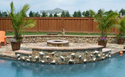 Fireplace & Firepit #007 by Integrity Pools and Spas