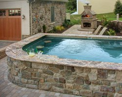 Concrete Pool #057 by Integrity Pools and Spas