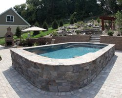 Concrete Pool #067 by Integrity Pools and Spas