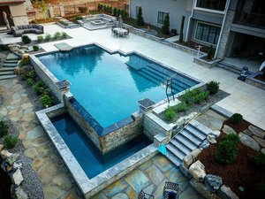 Concrete Pool #098 by Integrity Pools and Spas